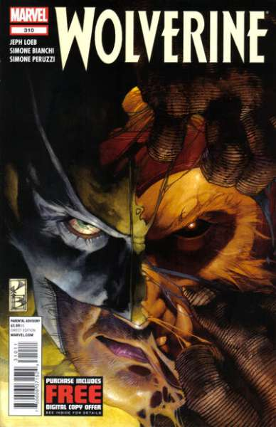 Wolverine #310 comic books for sale