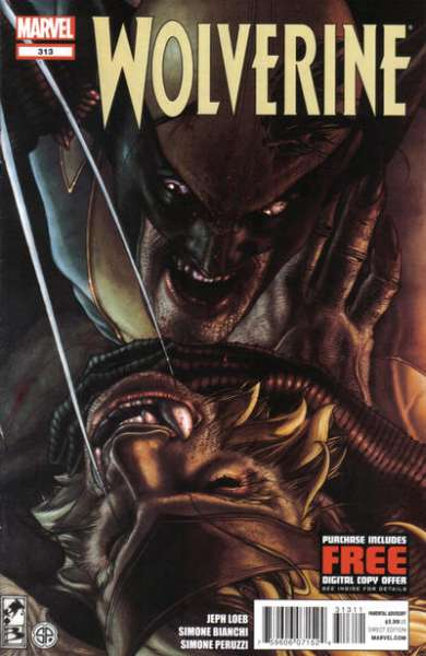 Wolverine #313 comic books for sale
