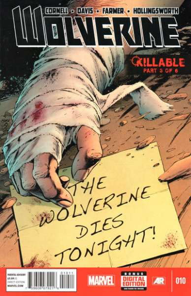 Wolverine #10 comic books - cover scans photos Wolverine #10 comic books - covers, picture gallery