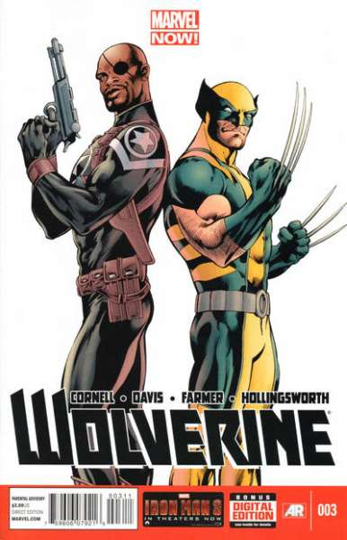 Wolverine #3 comic books - cover scans photos Wolverine #3 comic books - covers, picture gallery