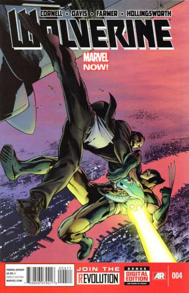 Wolverine #4 comic books - cover scans photos Wolverine #4 comic books - covers, picture gallery