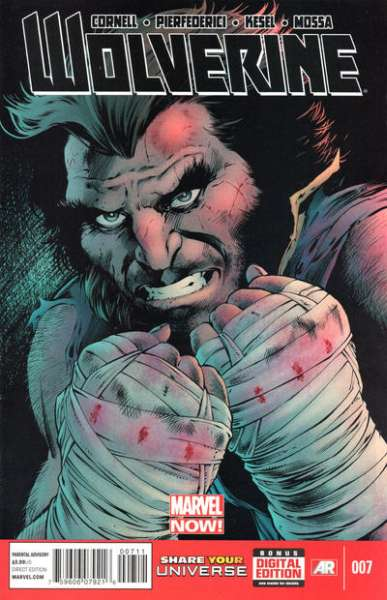 Wolverine #7 comic books - cover scans photos Wolverine #7 comic books - covers, picture gallery