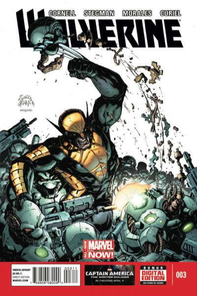 Wolverine #3 comic books for sale