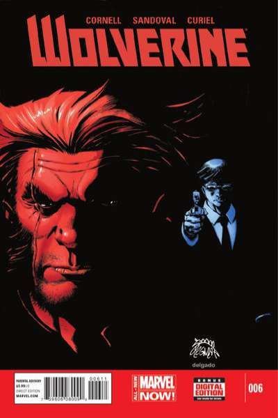 Wolverine #6 comic books - cover scans photos Wolverine #6 comic books - covers, picture gallery