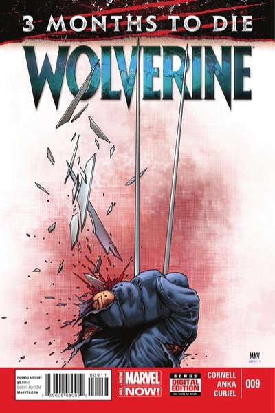 Wolverine #9 comic books - cover scans photos Wolverine #9 comic books - covers, picture gallery