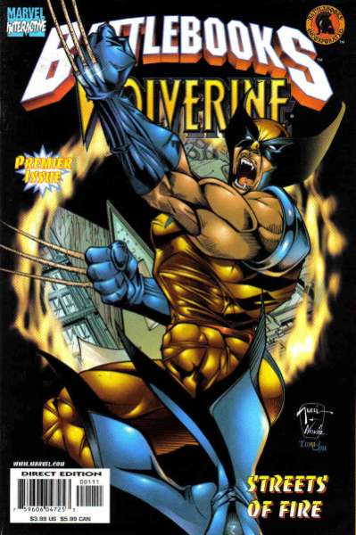 Wolverine Battlebook: Streets of Fire comic books