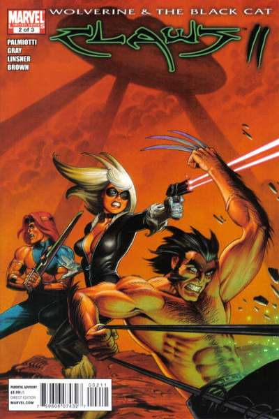 Wolverine & Black Cat: Claws II #2 comic books - cover scans photos Wolverine & Black Cat: Claws II #2 comic books - covers, picture gallery