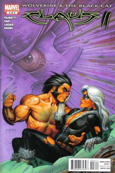 Wolverine & Black Cat: Claws II #3 comic books - cover scans photos Wolverine & Black Cat: Claws II #3 comic books - covers, picture gallery
