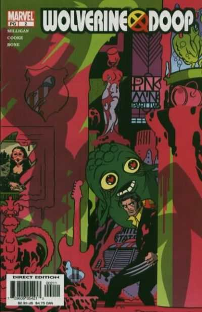 Wolverine/Doop #2 comic books - cover scans photos Wolverine/Doop #2 comic books - covers, picture gallery