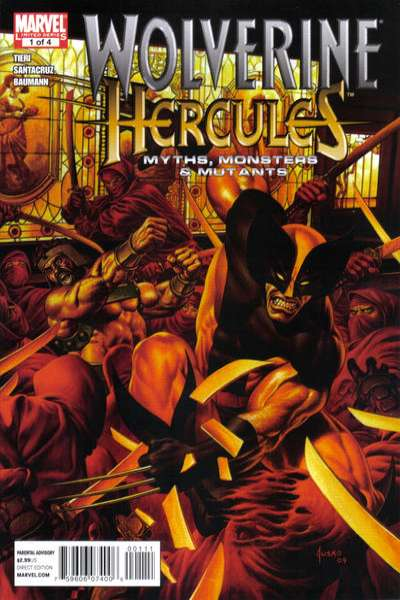 Wolverine/Hercules: Myths Monsters & Mutants #1 comic books - cover scans photos Wolverine/Hercules: Myths Monsters & Mutants #1 comic books - covers, picture gallery