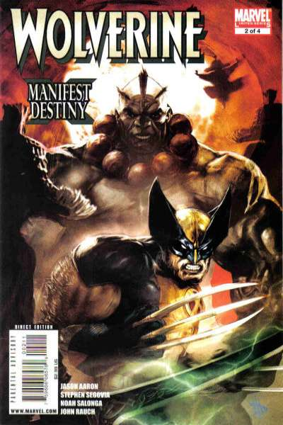 Wolverine: Manifest Destiny #2 comic books - cover scans photos Wolverine: Manifest Destiny #2 comic books - covers, picture gallery