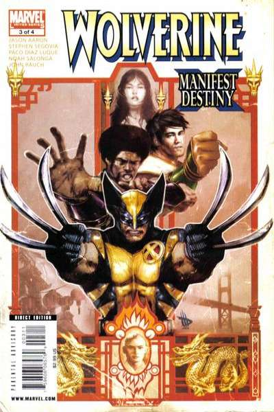 Wolverine: Manifest Destiny #3 comic books - cover scans photos Wolverine: Manifest Destiny #3 comic books - covers, picture gallery