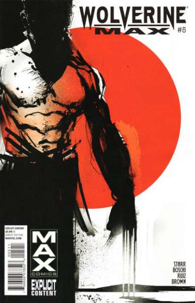 Wolverine Max #5 comic books - cover scans photos Wolverine Max #5 comic books - covers, picture gallery
