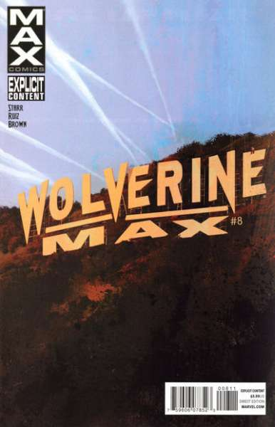 Wolverine Max #8 Comic Books - Covers, Scans, Photos  in Wolverine Max Comic Books - Covers, Scans, Gallery