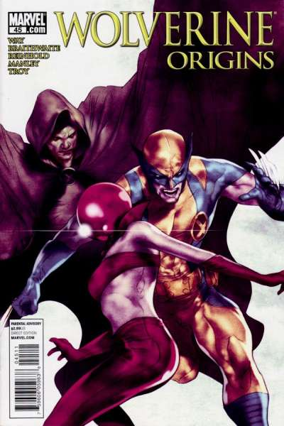 Wolverine: Origins #45 comic books - cover scans photos Wolverine: Origins #45 comic books - covers, picture gallery