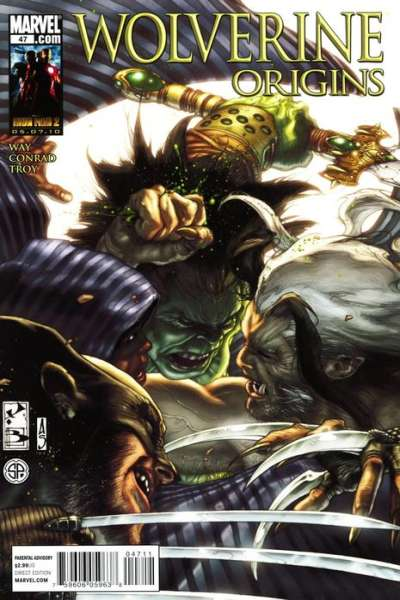 Wolverine: Origins #47 comic books - cover scans photos Wolverine: Origins #47 comic books - covers, picture gallery