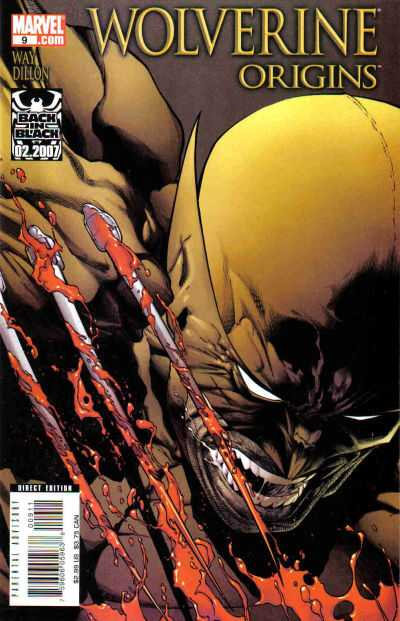 Wolverine: Origins #9 comic books - cover scans photos Wolverine: Origins #9 comic books - covers, picture gallery