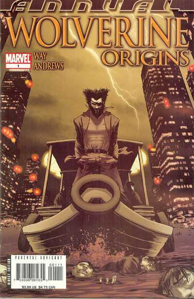 Wolverine: Origins #1 comic books - cover scans photos Wolverine: Origins #1 comic books - covers, picture gallery
