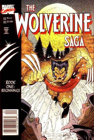 Wolverine Saga #1 comic books - cover scans photos Wolverine Saga #1 comic books - covers, picture gallery