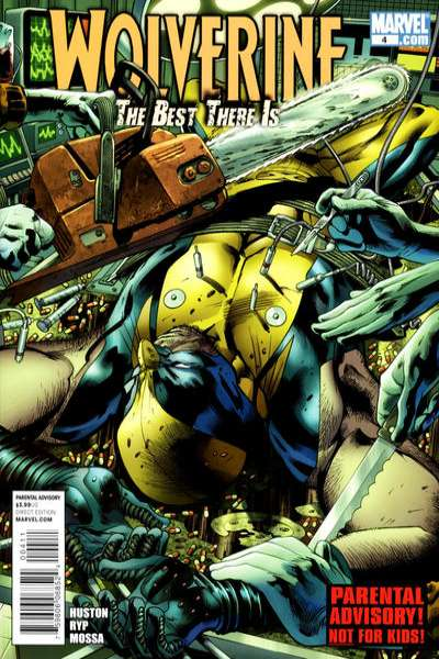 Wolverine: The Best There Is #4 comic books - cover scans photos Wolverine: The Best There Is #4 comic books - covers, picture gallery