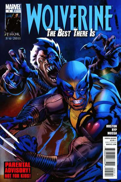 Wolverine: The Best There Is #5 comic books - cover scans photos Wolverine: The Best There Is #5 comic books - covers, picture gallery