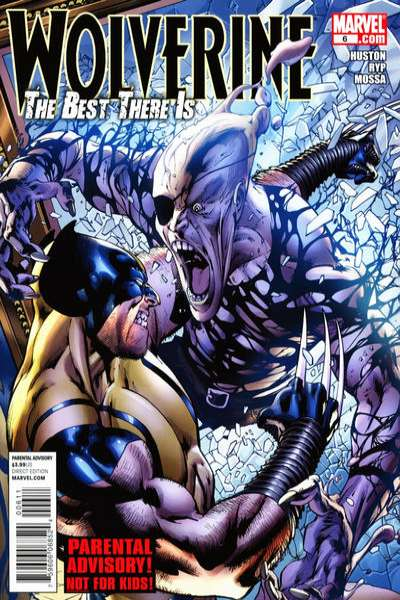 Wolverine: The Best There Is #6 comic books - cover scans photos Wolverine: The Best There Is #6 comic books - covers, picture gallery