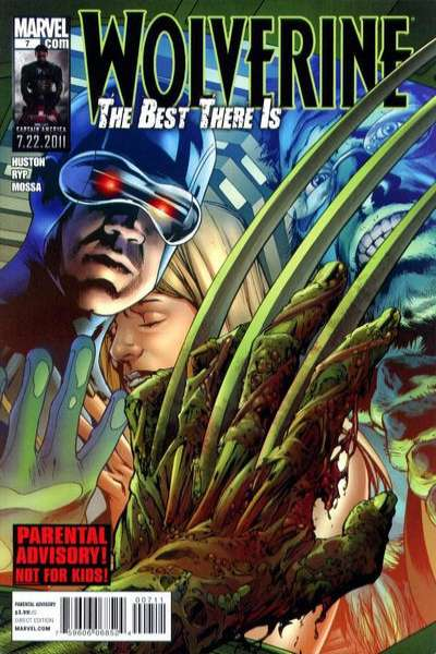 Wolverine: The Best There Is #7 comic books - cover scans photos Wolverine: The Best There Is #7 comic books - covers, picture gallery