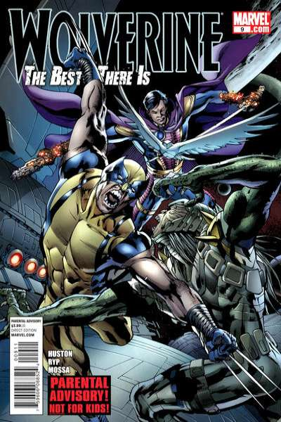 Wolverine: The Best There Is #9 comic books - cover scans photos Wolverine: The Best There Is #9 comic books - covers, picture gallery
