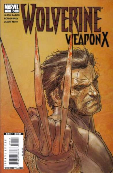 Wolverine: Weapon X comic books