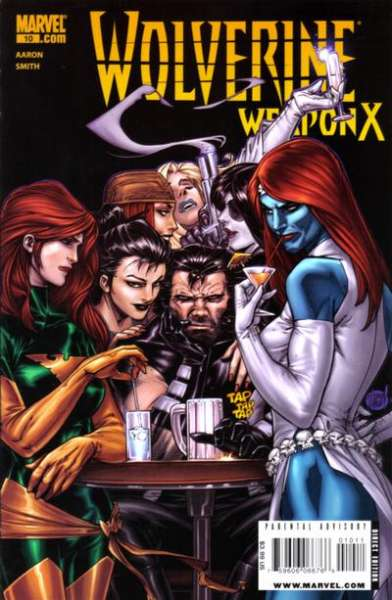 Wolverine: Weapon X #10 Comic Books - Covers, Scans, Photos  in Wolverine: Weapon X Comic Books - Covers, Scans, Gallery