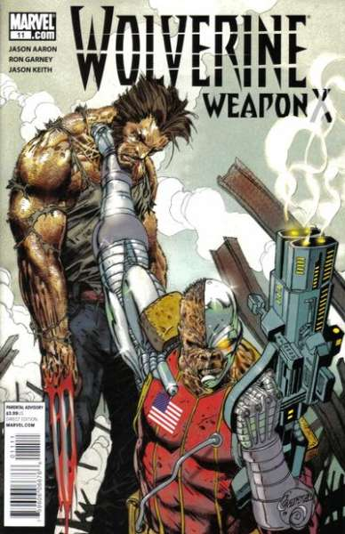 Wolverine: Weapon X #11 Comic Books - Covers, Scans, Photos  in Wolverine: Weapon X Comic Books - Covers, Scans, Gallery