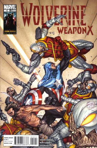 Wolverine: Weapon X #12 comic books - cover scans photos Wolverine: Weapon X #12 comic books - covers, picture gallery