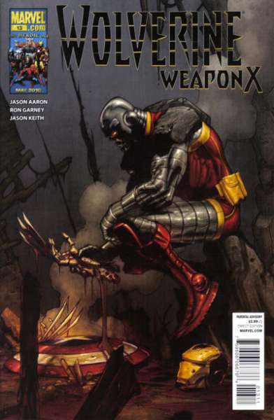 Wolverine: Weapon X #13 comic books for sale