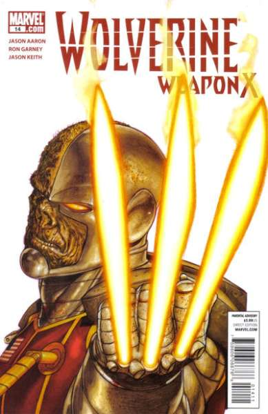 Wolverine: Weapon X #14 comic books - cover scans photos Wolverine: Weapon X #14 comic books - covers, picture gallery