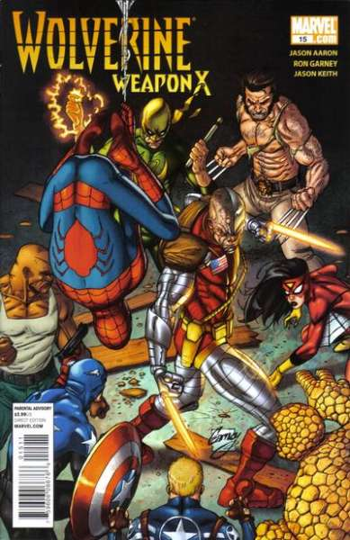 Wolverine: Weapon X #15 Comic Books - Covers, Scans, Photos  in Wolverine: Weapon X Comic Books - Covers, Scans, Gallery