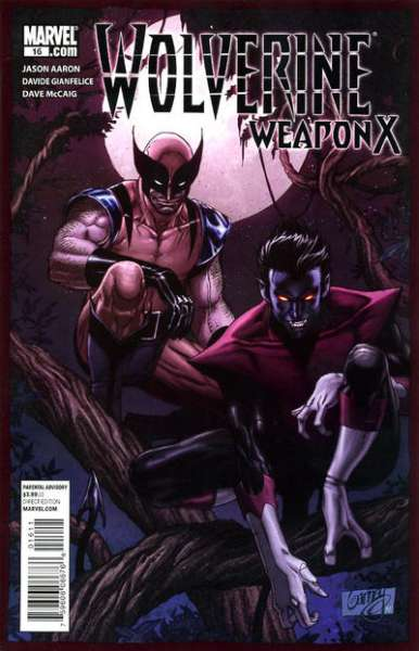 Wolverine: Weapon X #16 comic books - cover scans photos Wolverine: Weapon X #16 comic books - covers, picture gallery