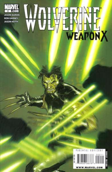 Wolverine: Weapon X #2 Comic Books - Covers, Scans, Photos  in Wolverine: Weapon X Comic Books - Covers, Scans, Gallery