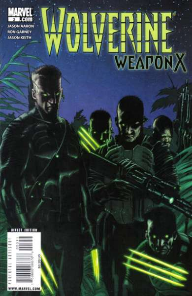 Wolverine: Weapon X #3 comic books - cover scans photos Wolverine: Weapon X #3 comic books - covers, picture gallery