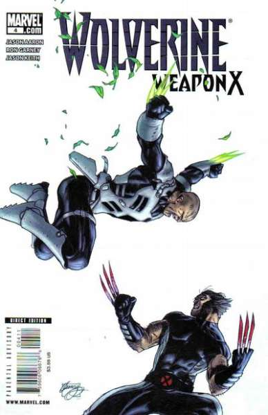 Wolverine: Weapon X #4 Comic Books - Covers, Scans, Photos  in Wolverine: Weapon X Comic Books - Covers, Scans, Gallery