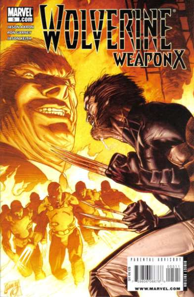 Wolverine: Weapon X #5 Comic Books - Covers, Scans, Photos  in Wolverine: Weapon X Comic Books - Covers, Scans, Gallery