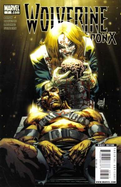 Wolverine: Weapon X #7 comic books - cover scans photos Wolverine: Weapon X #7 comic books - covers, picture gallery