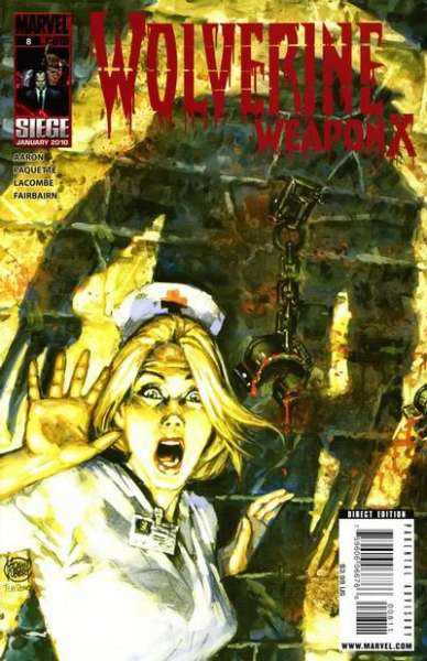 Wolverine: Weapon X #8 Comic Books - Covers, Scans, Photos  in Wolverine: Weapon X Comic Books - Covers, Scans, Gallery