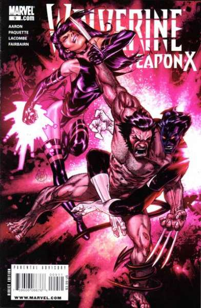 Wolverine: Weapon X #9 comic books - cover scans photos Wolverine: Weapon X #9 comic books - covers, picture gallery