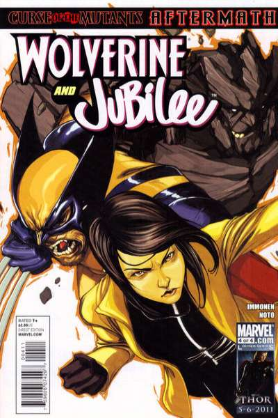 Wolverine and Jubilee #4 comic books - cover scans photos Wolverine and Jubilee #4 comic books - covers, picture gallery