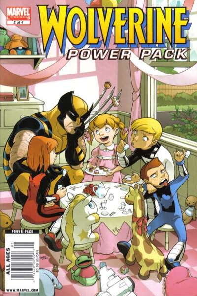Wolverine and Power Pack #2 Comic Books - Covers, Scans, Photos  in Wolverine and Power Pack Comic Books - Covers, Scans, Gallery