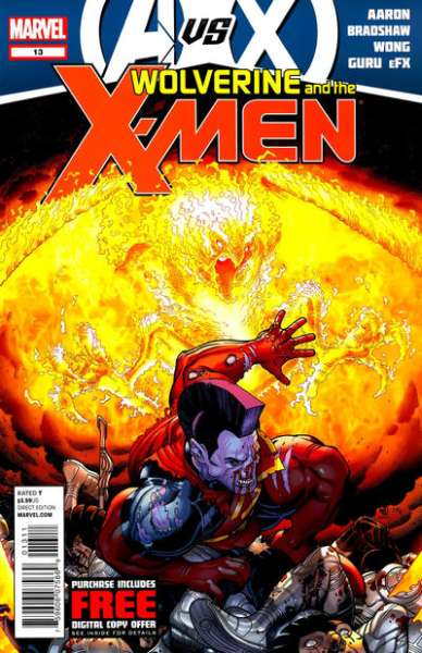 Wolverine & the X-Men #13 Comic Books - Covers, Scans, Photos  in Wolverine & the X-Men Comic Books - Covers, Scans, Gallery