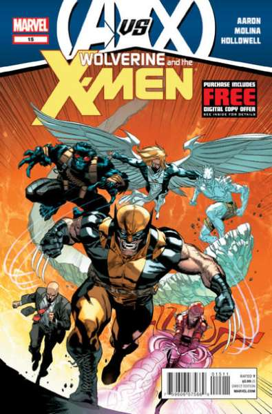 Wolverine & the X-Men #15 comic books - cover scans photos Wolverine & the X-Men #15 comic books - covers, picture gallery