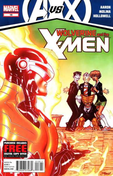 Wolverine & the X-Men #18 Comic Books - Covers, Scans, Photos  in Wolverine & the X-Men Comic Books - Covers, Scans, Gallery