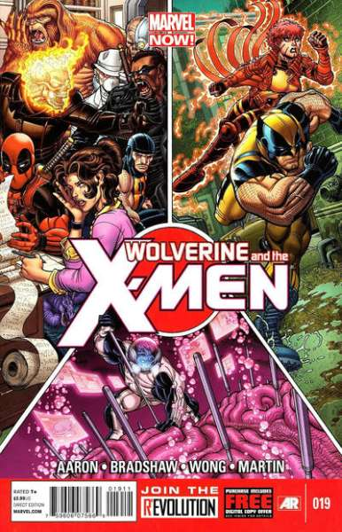 Wolverine & the X-Men #19 comic books for sale
