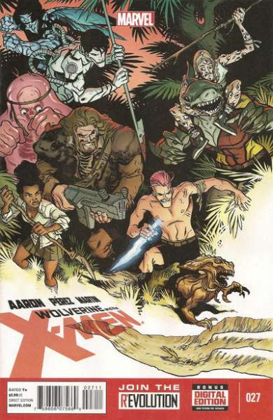 Wolverine & the X-Men #27 comic books for sale